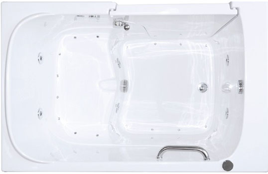 The Large Bariatric - Accessible Walk-in Bathtub